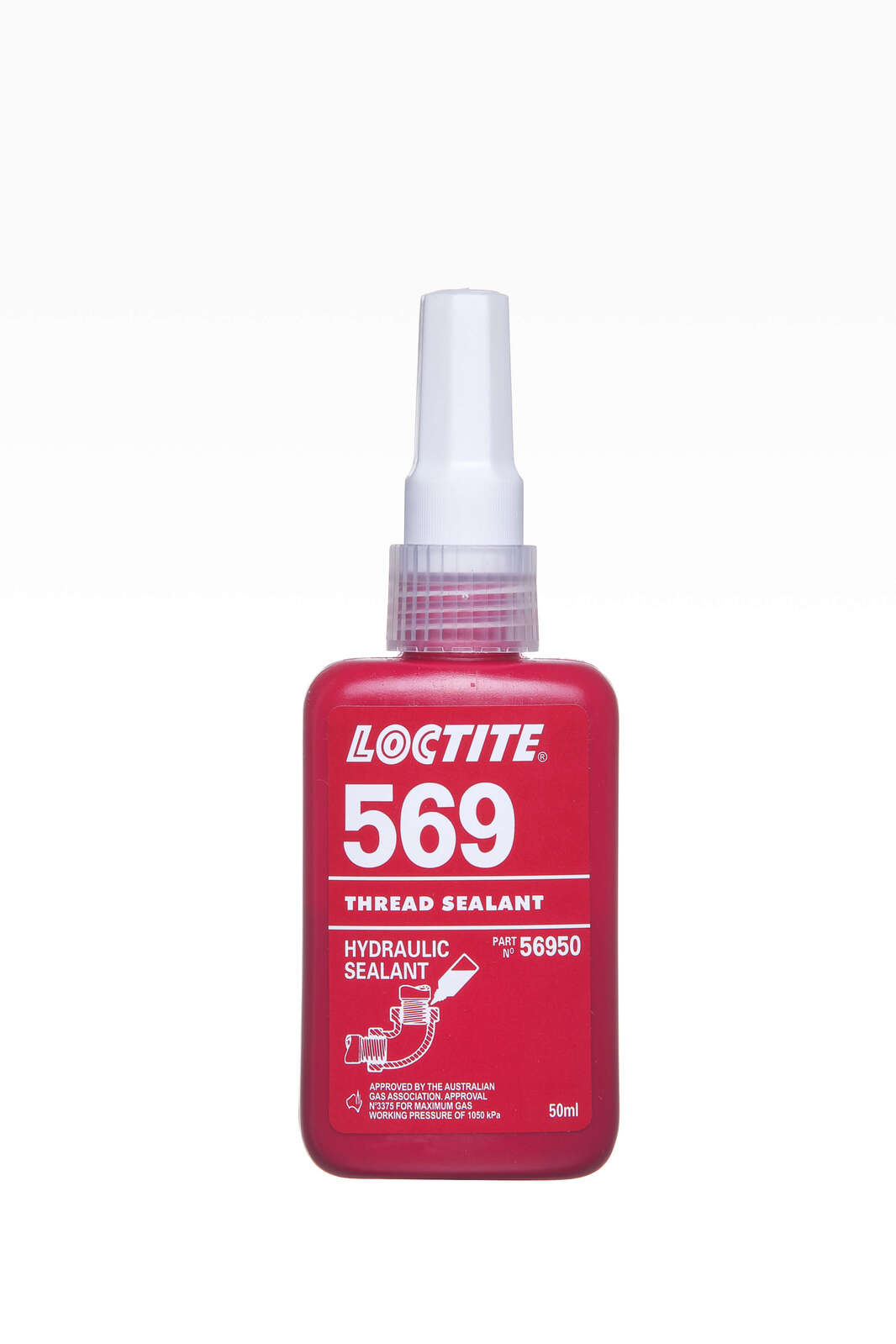 Loctite 569 Hydraulic High Strength Thread Sealant 50ml