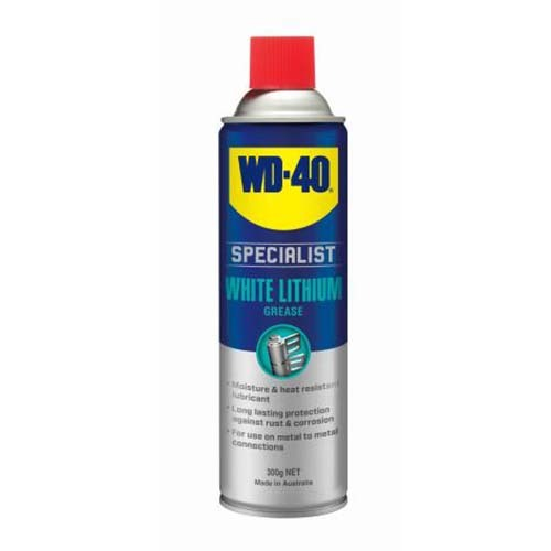 WD-40 Specialist High Performance White Lithium Grease Spray 300g