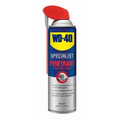 WD-40 Specialist Fast Release Penetrant Smart Straw 300g  - AIMS Industrial Supplies
