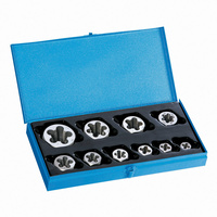 Sutton M454SDN2 10 Piece Imperial BSW Die Nut Set - Carbon Steel