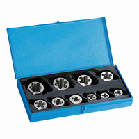 Sutton M454 10 Piece Imperial UNC Die Nut Set - Carbon Steel