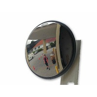 Safety Convex Mirror -   Round Outdoor 470 mm Stainless Steel