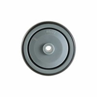 80mm Precision Wheel Bearing - Rubber Wheel, Grey