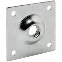 Mounting Plate to Suit Fridge Castor 90 x 90mm