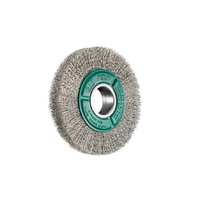 Wire Brush - SIT Crimped Wire Wheel 125mm x 17mm Stainless Steel 915