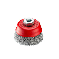 Industrial Wire Brush - SIT 725 Crimped Cup Brush 75mm x M14