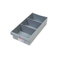 Fischer Spare Parts Tray w/ 2 Removable Dividers 200 x 100 x 400mm