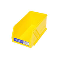 Fischer Stor-Pak Bin 10 Plastic Storage Bin Yellow - Box of 6