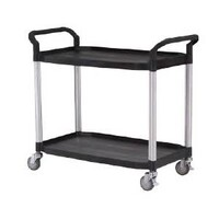 EasyRoll Large Two Tier Plastic Trolley