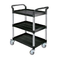 EasyRoll Small Three Tier Plastic Trolley