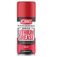 CRC White Lithium Grease Heavy Duty Lubricant 300g