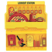 Master Lock 18-piece Lockout Station includes 6 Padlocks + more