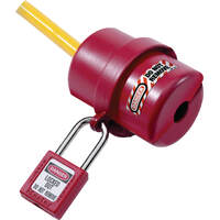 Master Lock 0487 Plug Lockout Electrical Small 3 Pin