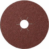 Klingspor Fibre Disc Aluminium Oxide 100 Grit 180mm x 22 Box of 25 11065