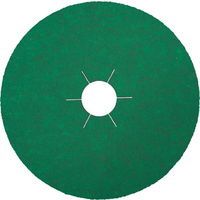 Klingspor 100 x 16mm Zirconia 80 Grit CS570 (Round Hole With Top Coat) Fibre Disc - Box of 25 (204826)