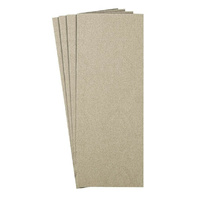 Klingspor Sanding Sheets Half Strip 320 Grit 115 x 230mm Box of 100 147185