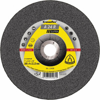 Klingspor  115 x 6 x 22.23mm Medium Grit A24R 13300rpm Grinding Disc - Box of 10 (13401)