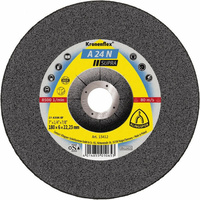 Klingspor  180 x 6 x 22.23mm Soft Grit A24N 8500rpm (Inox) Grinding Disc - Box of 10 (13412)