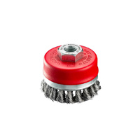 Wire Brush - SIT Brush Cup Twist Knot Steel 70mm x 0.5mm x M14