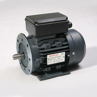 TechTop 0.09 kW Motor 1 Phase 4 Pole, 1370 RPM, Foot & Flange TA4A0098TMY