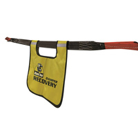 Black Rat 4WD Safety Recovery Damper Yellow With Reflective Tape