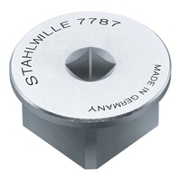 "Stahlwille Adaptor Square Drive 1/4""Drive x 3/4"" Plug  (6.3 x 20mm) - 709199"