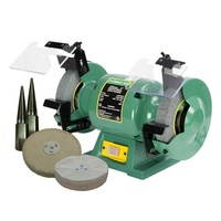 "6"" Bench Grinder Combo With Mops & Spindle Set, 280W"