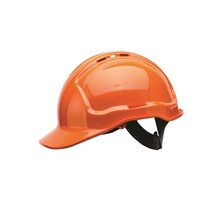 Frontier Vented Hard Hat - Orange -One Size Fits All
