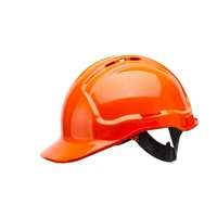 Frontier Non-Vented Hard Hat Red, One Size Fits All