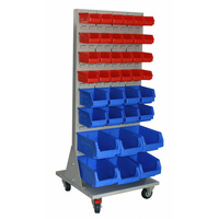 Ezylok Line Feed Trolley with Louvred Panel