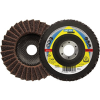Klingspor Non-Woven 12-Degree Flap Disc Special Stainless Steel SMT800