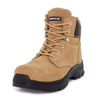 Mack Carpenter Lace Up Zip Safety Boots