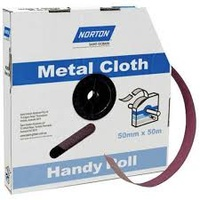 Norton Emery Cloth Backed Abrasive Roll 50mm x 50m K283