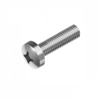BSW Phillips Pan Head  (Machine) Screw - 316 Stainless Steel