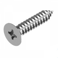 Imperial Phillips Countersunk Self Tapping Screw - 316 Stainless Steel
