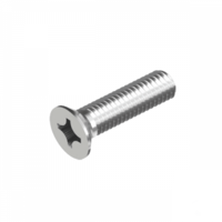 Metric Phillips Head Countersunk (Machine) Screw - 304 Stainless Steel