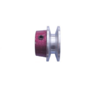 Stenco A Section Pilot Bore V Pulley Aluminium (1 Groove)